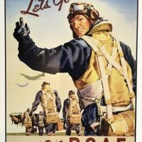 POSTER – Let's Go Fly and Fight