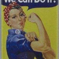 MAGNET – Rosie the Riveter