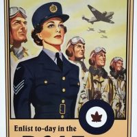 POSTER – She Serves That Men May Fly