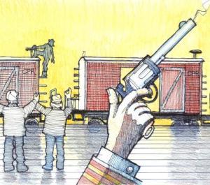 86 Tons of Coal – Nanton's Great Train Robbery