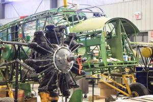 "Avro Anson type 652A – MK II ""7481"" restoration project"