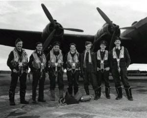 """Robert Clothier – """"Relic"""" of the Beachcombers was a Bomber Pilot"""