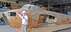 Bomber Command Museum of Canada – Restoration of the Calgary Mosquito