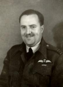 The Military Career of W/C D. Stewart Robertson DFC